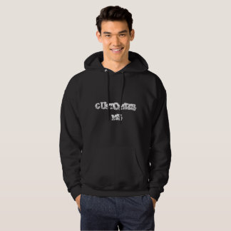 BLACK CUSTOMIZE ME MEN'S HOODIE