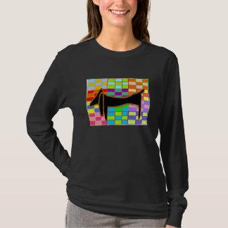 Black Dachshund 2 T-Shirt