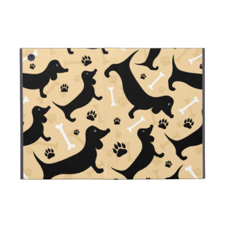 Black dachshund case for iPad mini