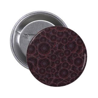 Black Dahlias 2 Inch Round Button