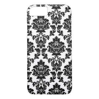 Black Damask iPhone 7 Case
