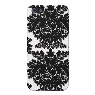 Black Damask iPhone case iPhone 5 Covers