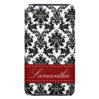 Black Damask Lace Broquade IPod Touch Speck Case iPod Touch Covers