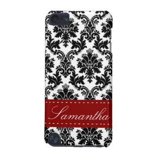 Black Damask Lace Broquade Touch  iPod Touch (5th Generation) Cases