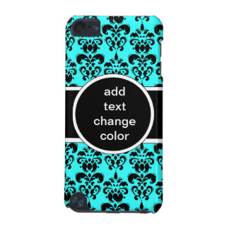black damask on any color iPod touch 5G case