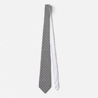 Black Damask Tie