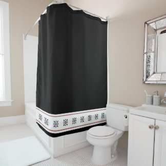 Black damask with a touch of tan color