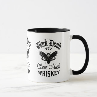 Black Death 777 - Deaths Head Whiskey Mug