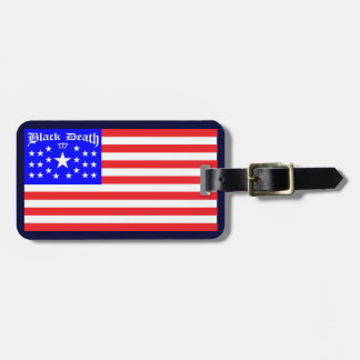 Black Death 777 - Freed Em Luggage Tag