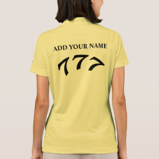 Black Death 777 - Your 777 (Add Your Name) Polo Shirt