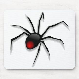 Black Death Spider Mouse Pad