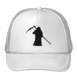 Black Death spooky figure Trucker Hat