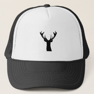 Black Deer Trucker Hat