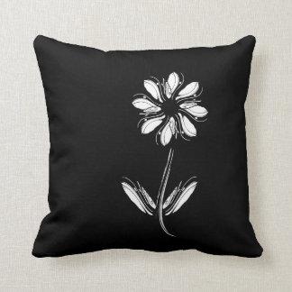 Black Dekokissen Throw Pillow