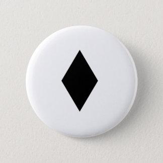 Black Diamond 2 Inch Round Button