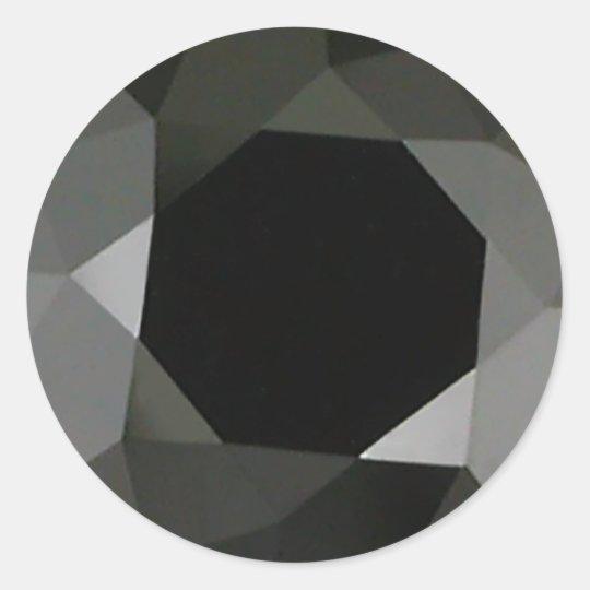 Black Diamond Classic Round Sticker