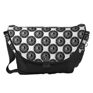 Black Diamond Messenger Bag
