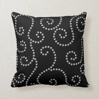 Black Diamond Throw Pillows : Bling Pillows - Bling Throw Pillows Zazzle