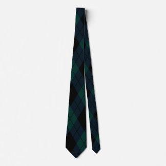 Black Diamond Tartan Tie