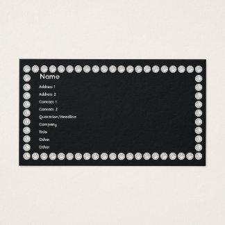 Black Diamonds - Business Business Card