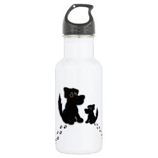 Black Dog Family 532 Ml Water Bottle
