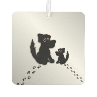 Black Dog Family Air Freshener