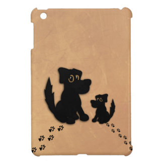 Black Dog Family Case For The iPad Mini