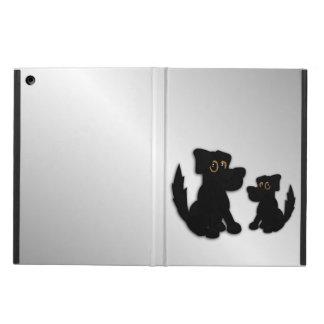 Black Dog Family iPad Air Cover