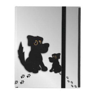 Black Dog Family iPad Folio Case