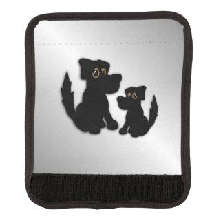 Black Dog Family Luggage Handle Wrap