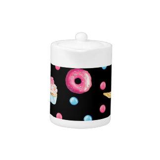 Black Donut Collage