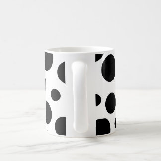Black Dots Coffee Mug