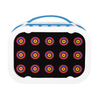 black dots lunch box
