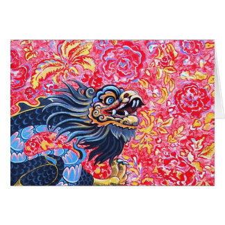 Black Dragon Card
