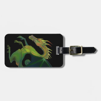 Black Dragon Luggage Tag