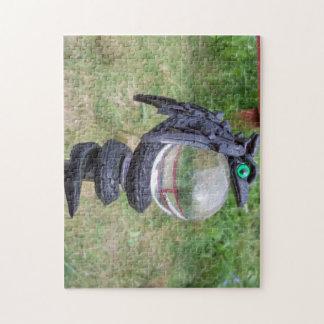 Black dragon orb puzzle