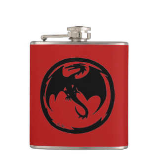 Black Dragon red flask