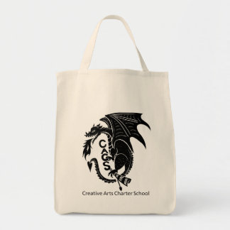 Black Dragon Tote Bag