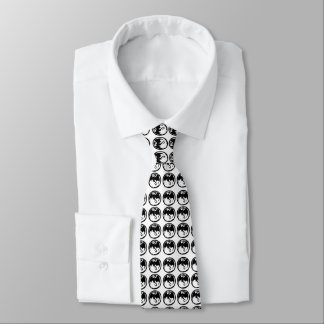 Black Dragons business tie (2-sided)