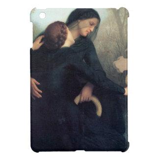 Black dress cross gothic women Bouguereau iPad Mini Covers