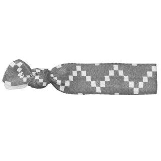 Black EB Zigzag Elastic Hair Ties