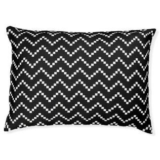 Black EB Zigzag Pet Bed