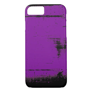 Black Edge Grunge Texture iPhone 8/7 Case