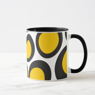 Black eggs mug