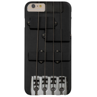 Black Electric Guitar Barely There iPhone 6 Plus Case