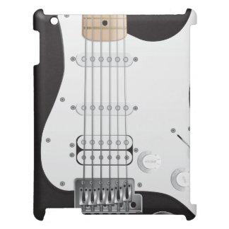 Black Electric Guitar iPad Case