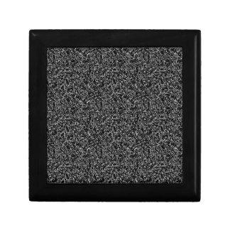 Black elegant texture gift box