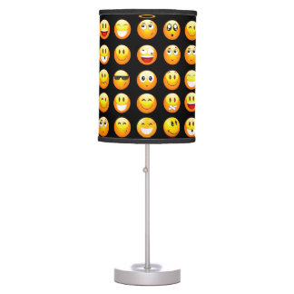black emojis lamp