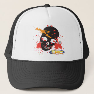 Black Epic Skull Hat