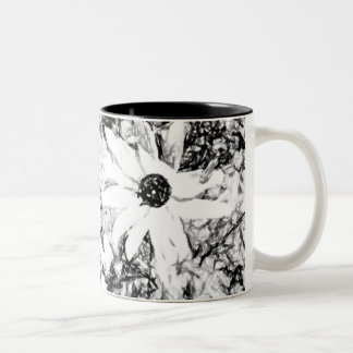 Black-eyed Susan Art Two-Tone Coffee Mug